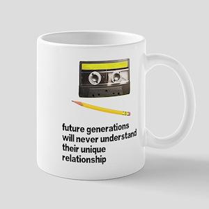 Cassette Tape Pencil Relation Mug