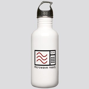 Microwave Ready Stainless Water Bottle 1.0L