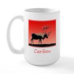 Sunset Caribou 15 oz Ceramic Large Mug