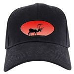 Sunset Caribou Black Cap with Patch