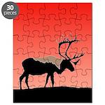 Sunset Caribou Puzzle