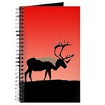 Sunset Caribou Journal