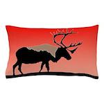 Sunset Caribou Pillow Case