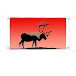 Sunset Caribou Banner