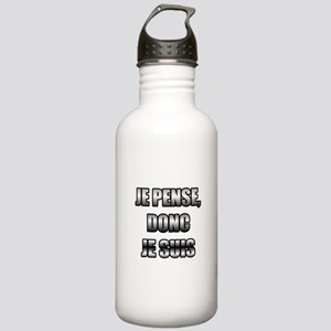 I think, therefore I am Stainless Water Bottle 1.0