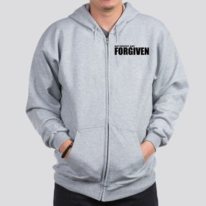 Not perfect just forgiven Zip Hoodie