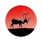Sunset Caribou Button