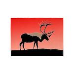 Sunset Caribou 5'x7'Area Rug