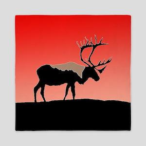 Sunset Caribou Queen Duvet