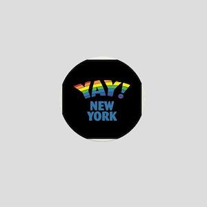 YAY! NEW YORK Mini Button
