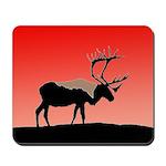 Sunset Caribou Mousepad