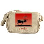 Sunset Caribou Messenger Bag