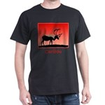Sunset Caribou Dark T-Shirt