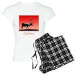 Sunset Caribou Women's Light Pajamas