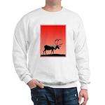 Sunset Caribou Sweatshirt