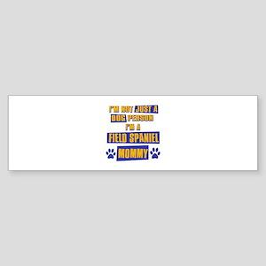 Field Spaniel Mommy Sticker (Bumper)
