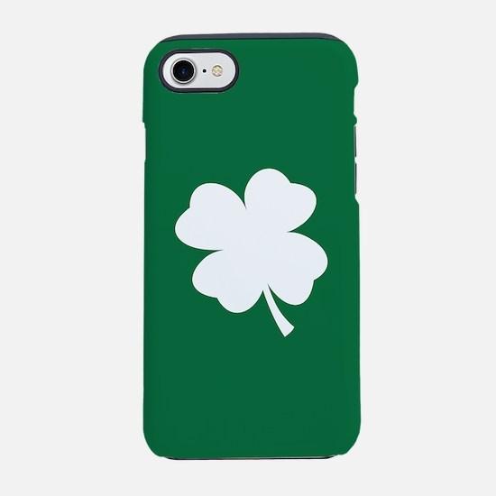 St Patricks Day Shamrock iPhone 7 Tough Case