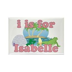 I is for Isabelle Rectangle Magnet (10 pack)