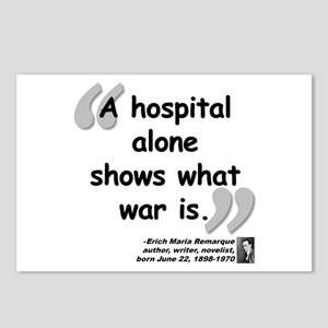 Remarque War Quote Postcards (Package of 8)