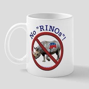 """No """"RINOs""""! Republican Mug"""