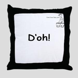 D'oh! Throw Pillow