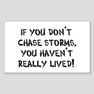 chase storms Sticker (Rectangle)