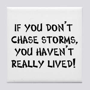 chase storms Tile Coaster