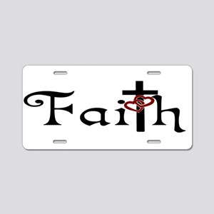 Christian Faith Aluminum License Plate