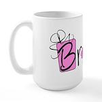 Pink Lady Bride Large Mug