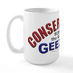 Conservative Geezer Large Mug