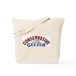 Conservative Geezer Tote Bag