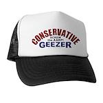 Conservative Geezer Trucker Hat