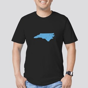 Vintage Grunge Baby Blue Blue Men's Fitted T-Shirt