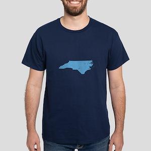 Vintage Grunge Baby Blue Blue Dark T-Shirt