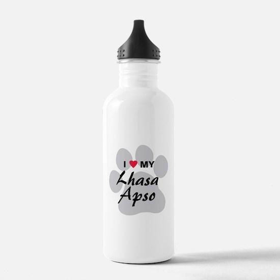 Lhasa Apso Water Bottle