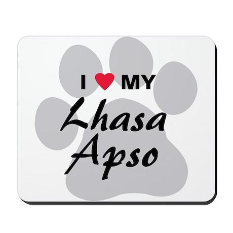 Lhasa Apso Mousepad