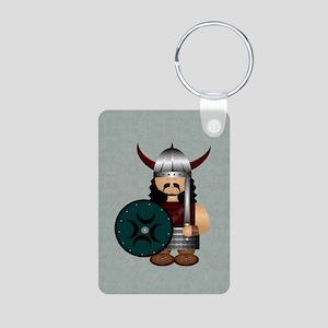 Viking Aluminum Photo Keychain