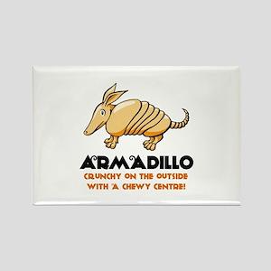 Armadillo Rectangle Magnet
