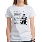 Don't interfere with the Cons Women's T-Shirt