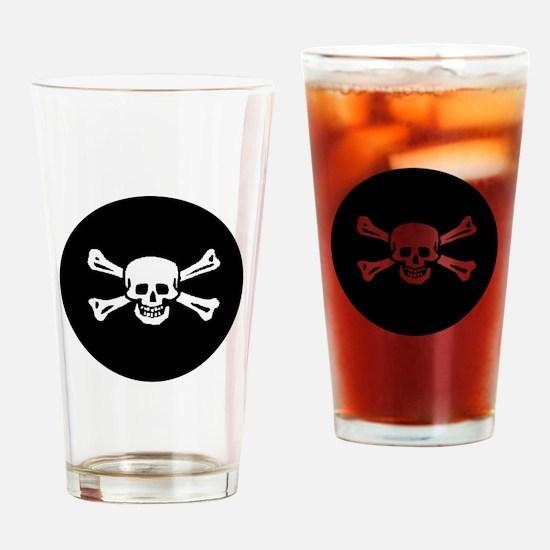 Jolly Roger Pint Glass