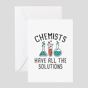 Chemists Greeting Card