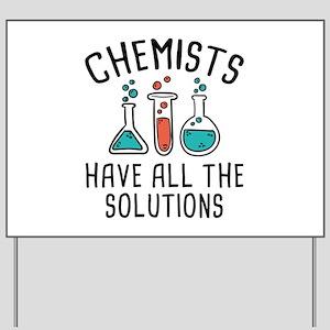Chemists Yard Sign