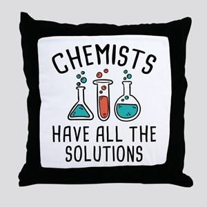 Chemists Throw Pillow