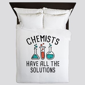 Chemists Queen Duvet