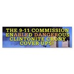 Clinton Conspiracy Bumper Sticker