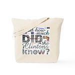 Clinton Conspiracy Tote Bag