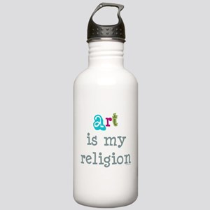 Art is My Religion Stainless Water Bottle 1.0L