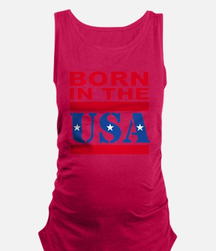 Born in the USA Tank Top
