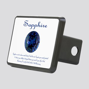 "Sapphire Image & Meaning"" Rectangular Hitch Cover"
