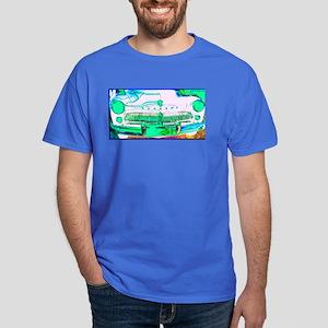 Mercury, Retro, Car, Dark T-Shirt